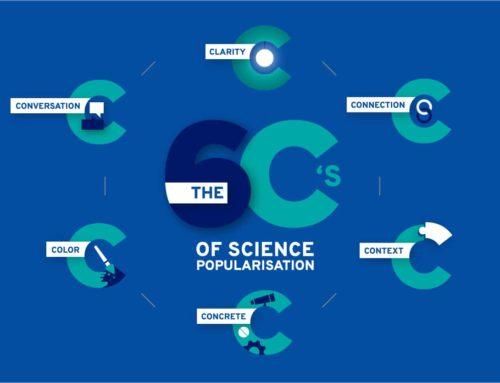 The 6Cs of science popularisation