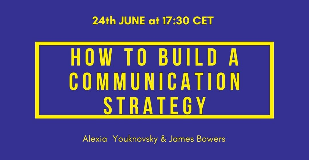 Webinar: How to build a communication strategy?