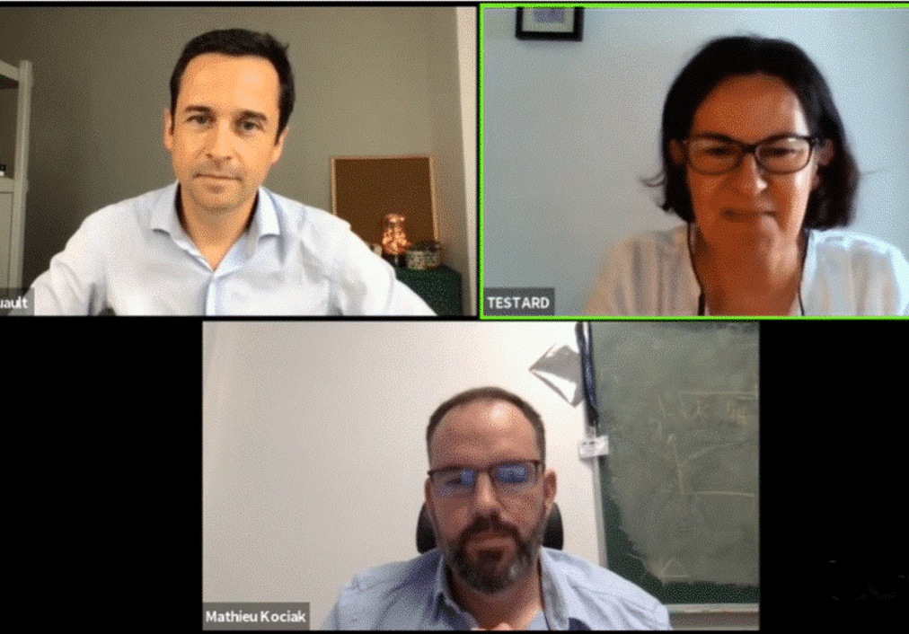 Video conference training