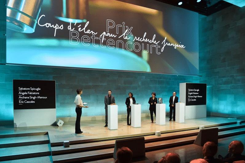 Event: science awards ceremony