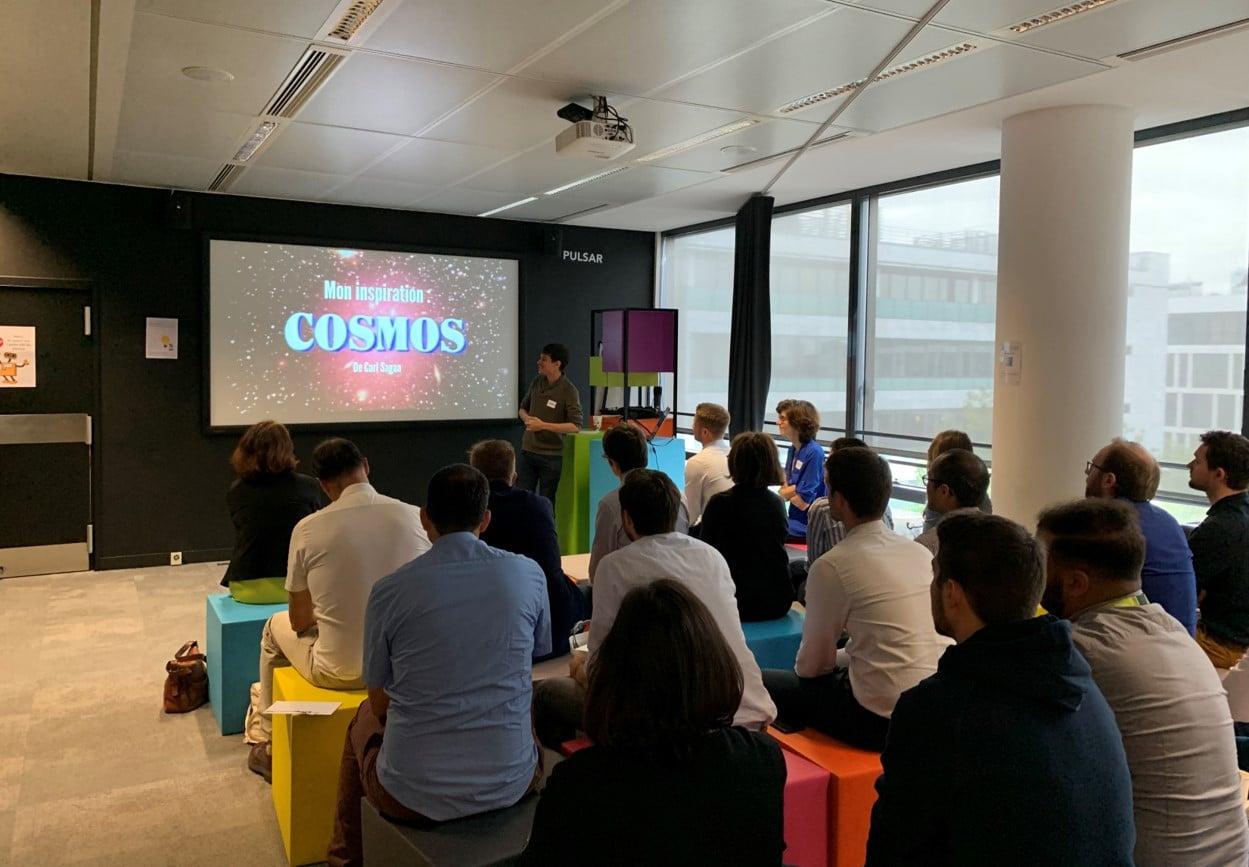 Illustrate new tech: team-building workshop