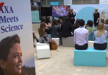 Silent conferences for the AXA Research Fund