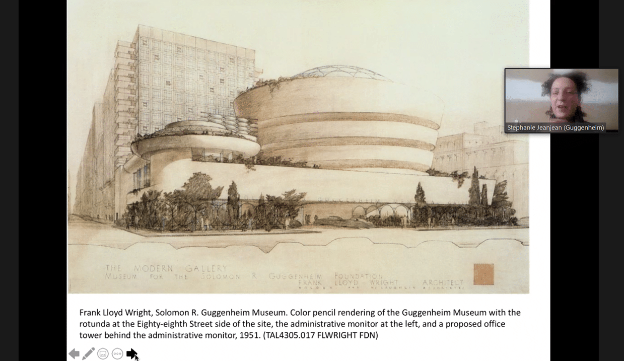 Virtual tour of the Guggenheim Museum in New York