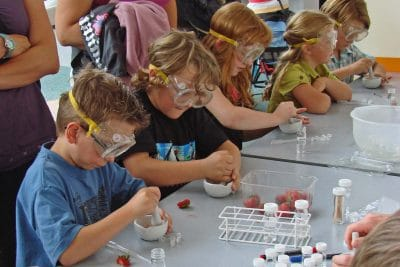 Science workshop for children