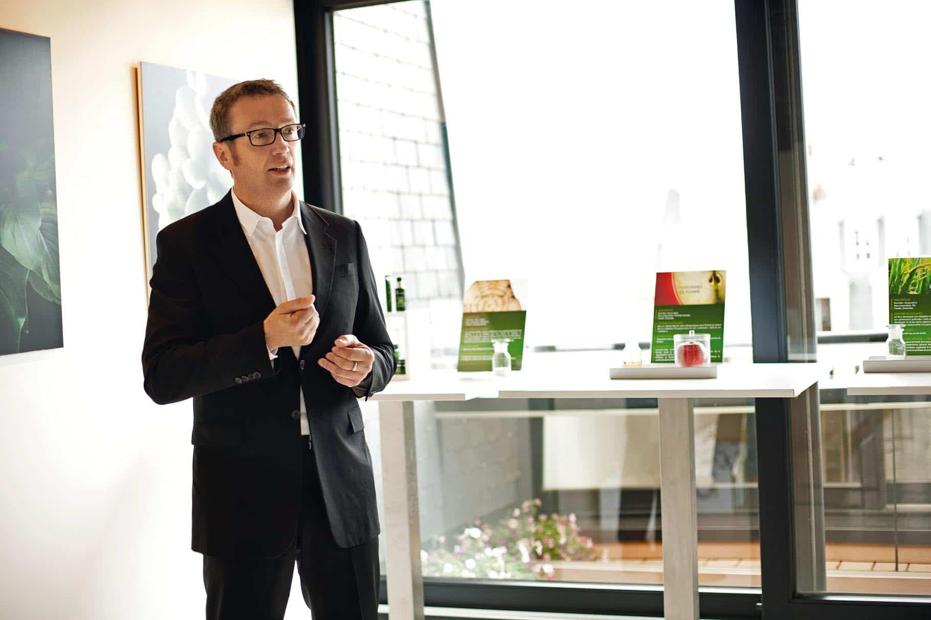 Xavier Ormancey, Research and Innovation Director at Yves Rocher.