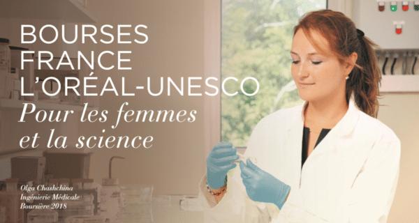 L'Oréal-UNESCO: call for applications 2019